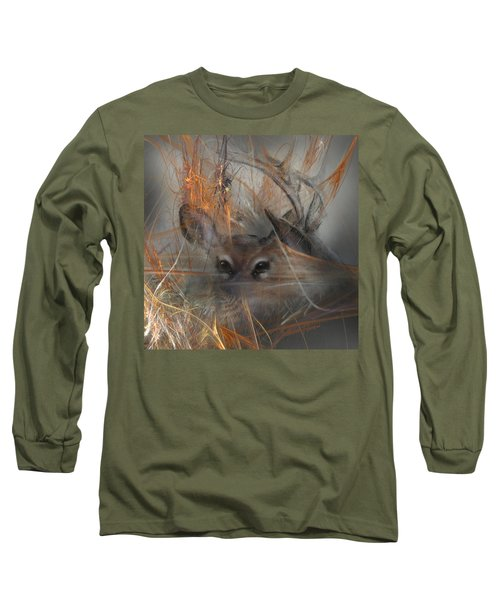 Double Vision - Look Close Long Sleeve T-Shirt