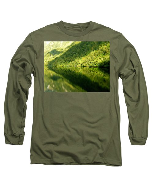 Doubtful Sound, New Zealand No. 4 Long Sleeve T-Shirt