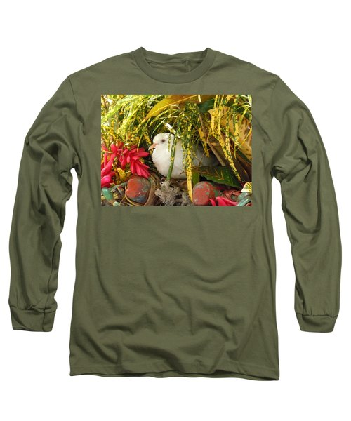 Dove In Jamaica Long Sleeve T-Shirt