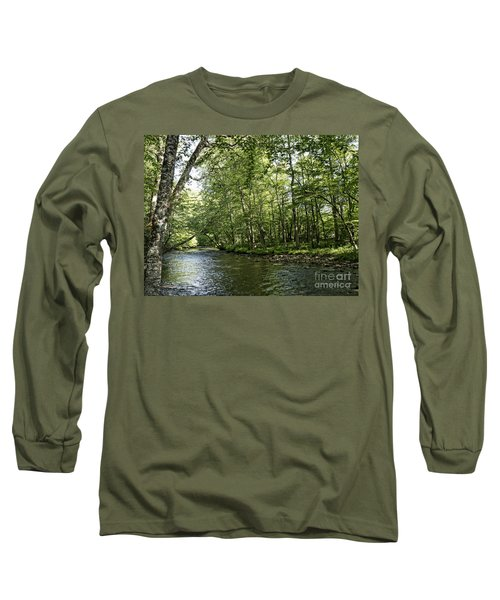 Down Beside Where The Waters Flow Long Sleeve T-Shirt
