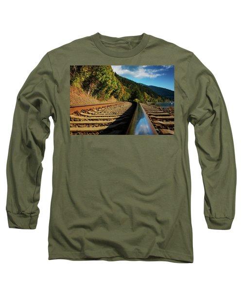 Down The Chukanut Line Long Sleeve T-Shirt