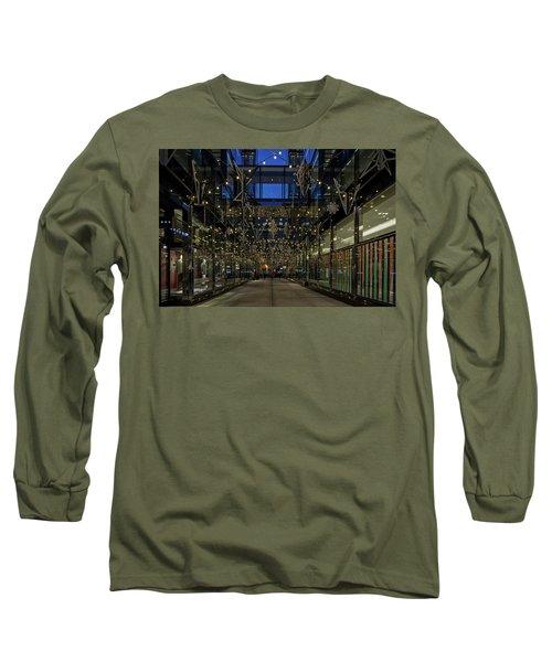 Downtown Christmas Decorations - Washington Long Sleeve T-Shirt