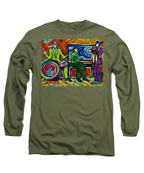 Downtown Long Sleeve T-Shirt by Emery Franklin