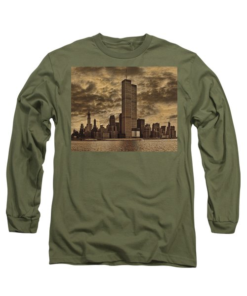 Downtown Manhattan Circa Nineteen Seventy Nine  Long Sleeve T-Shirt