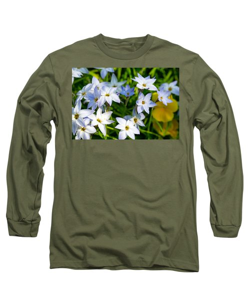 Downtown Wildflowers Long Sleeve T-Shirt