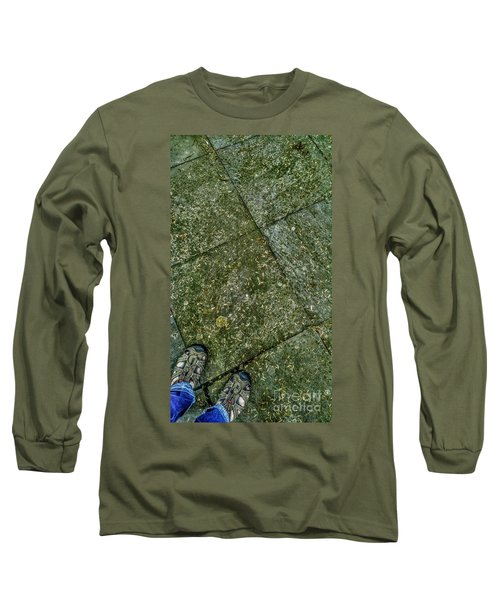 Downward Views #001 Long Sleeve T-Shirt
