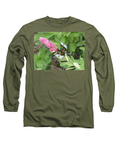 Draggin The Line Long Sleeve T-Shirt by Marie Neder