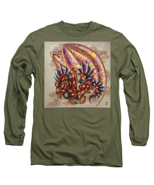 Dragon And A Ladybird Long Sleeve T-Shirt