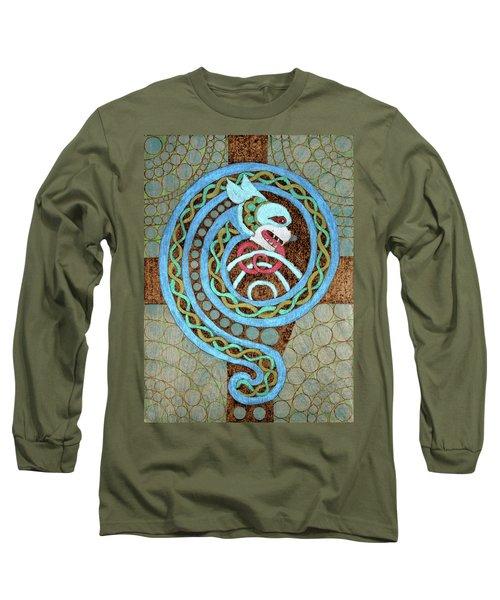 Dragon And The Circles Long Sleeve T-Shirt