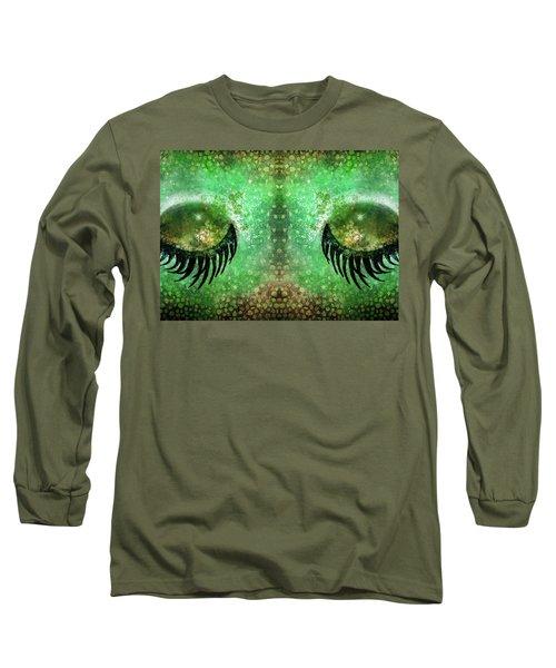 Dragon Eyes At Dawn Long Sleeve T-Shirt