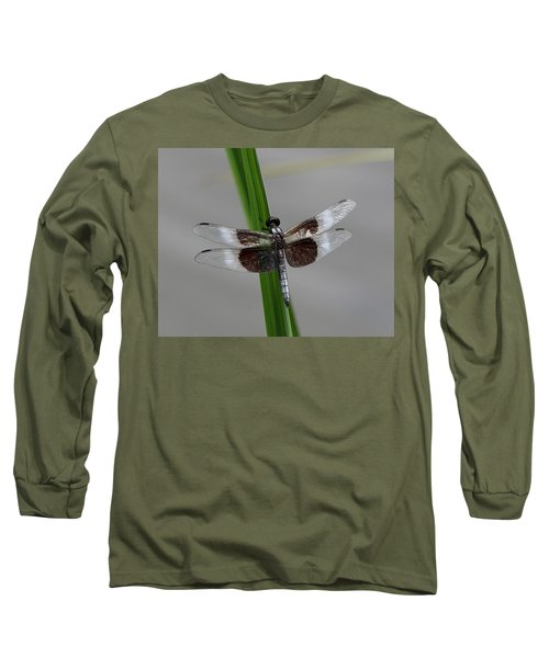 Long Sleeve T-Shirt featuring the photograph Dragon Fly by Jerry Battle