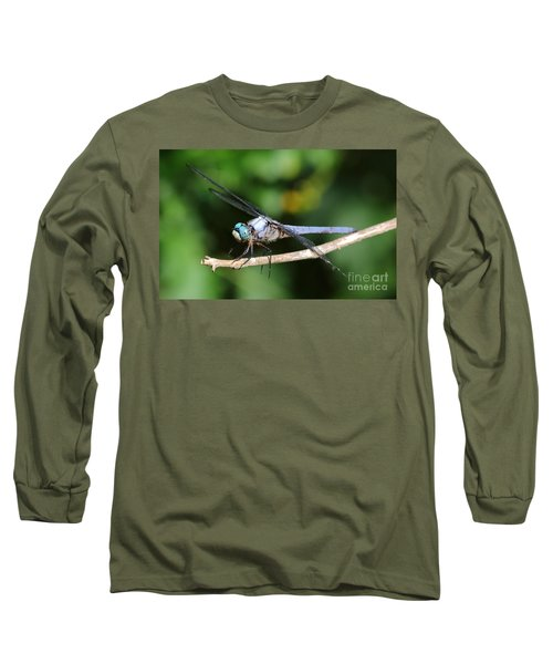 Dragonfly Portrait Long Sleeve T-Shirt