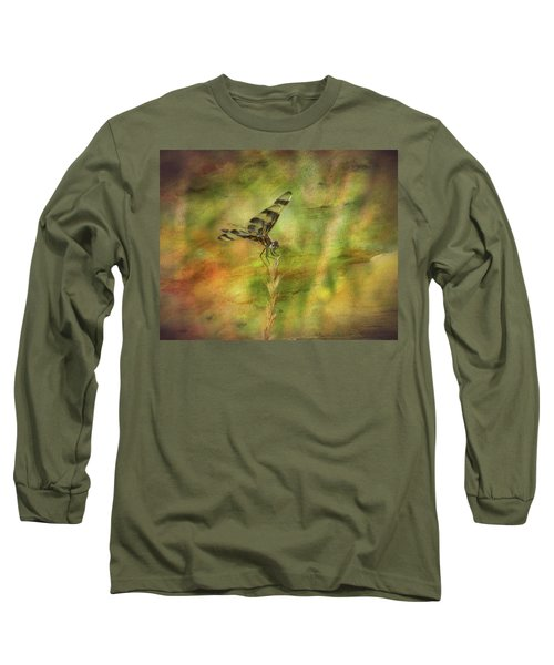 Dragonfly Art Long Sleeve T-Shirt