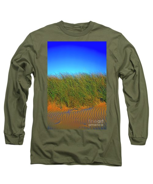 Drake's Island Beach Long Sleeve T-Shirt