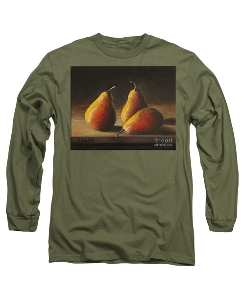Dramatic Pears Long Sleeve T-Shirt