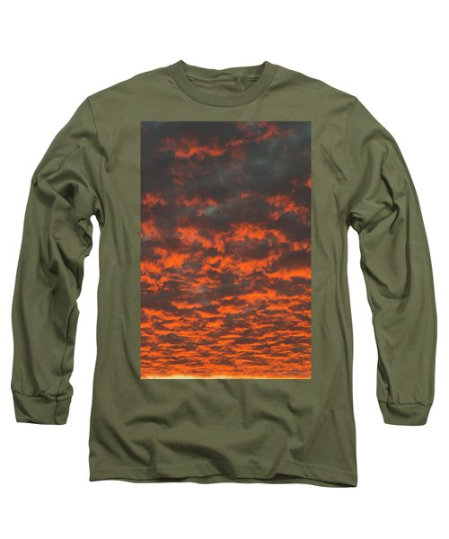 Dramatic Sunset Long Sleeve T-Shirt by Hans Engbers