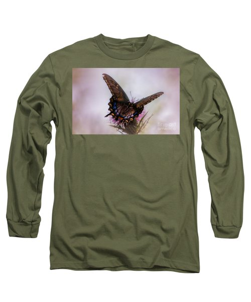 Dream Of A Butterfly Long Sleeve T-Shirt by Rima Biswas