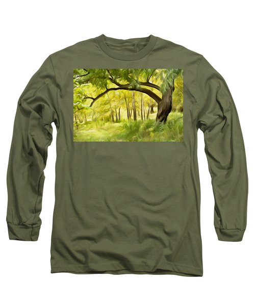 Dream On Long Sleeve T-Shirt by Carol Crisafi