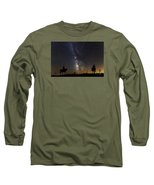 Long Sleeve T-Shirt featuring the photograph Dream Ride At Magic Time by Karen Slagle