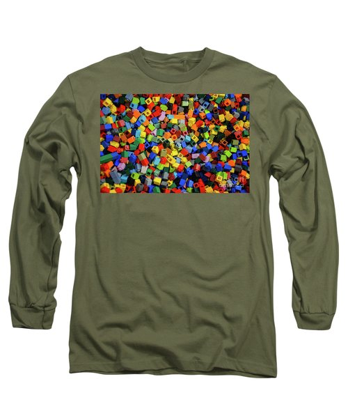 Dreaming In Legos  Long Sleeve T-Shirt