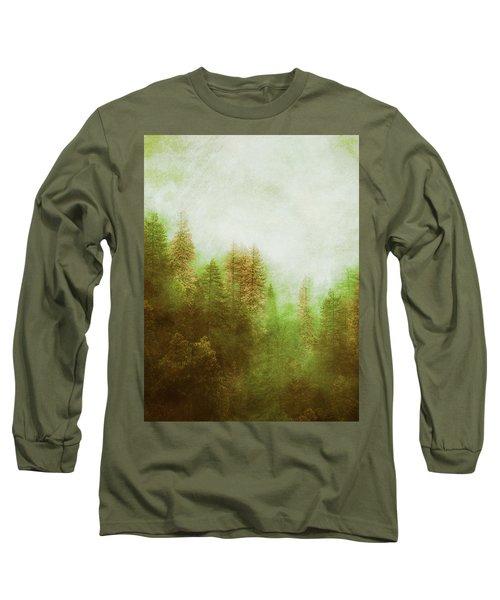 Dreamy Summer Forest Long Sleeve T-Shirt