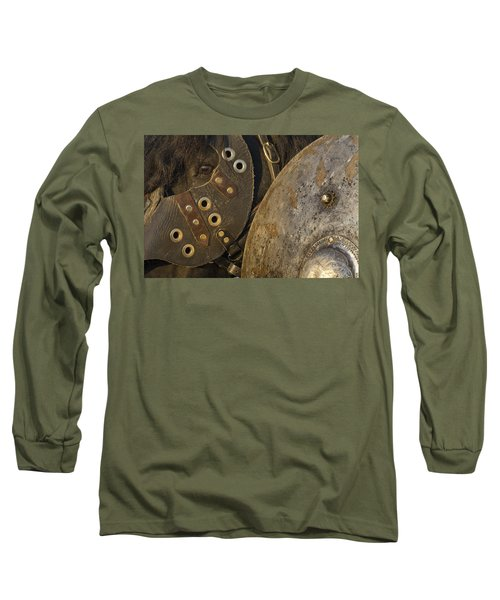 Dressed For Battle Long Sleeve T-Shirt by Wes and Dotty Weber