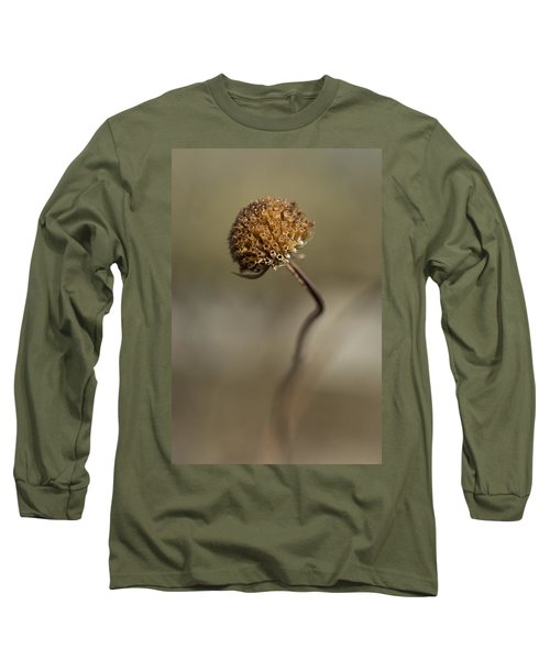 Dried Flower Close-up Long Sleeve T-Shirt