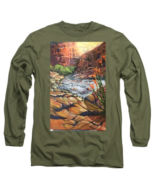 Dry Wash Long Sleeve T-Shirt