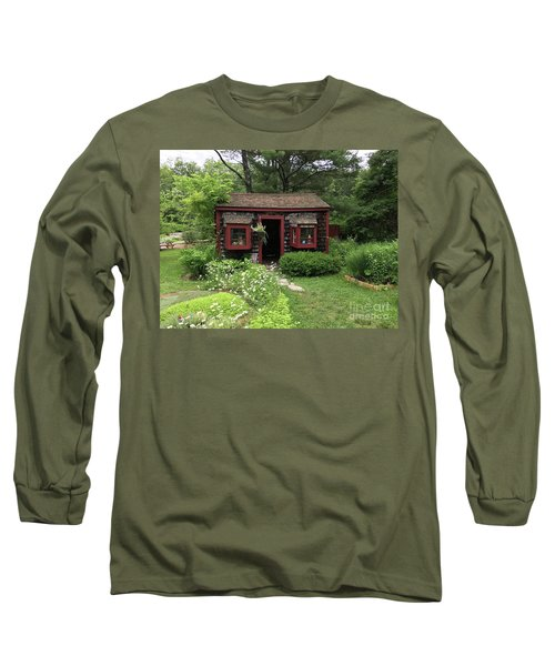 Drying Shed For Herbs Long Sleeve T-Shirt