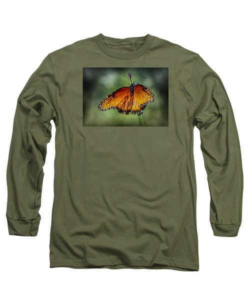 Long Sleeve T-Shirt featuring the photograph Drying Wings by Elaine Malott