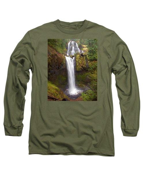 Dual Cascade Long Sleeve T-Shirt by Todd Kreuter