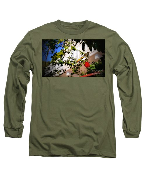 Dubrovniks Butterfly Long Sleeve T-Shirt
