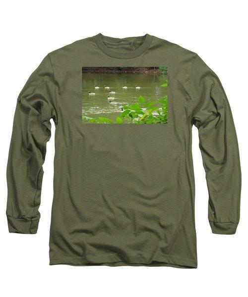 Duck Nation  Long Sleeve T-Shirt