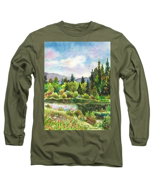 Duck Pond At Caribou Ranch Long Sleeve T-Shirt