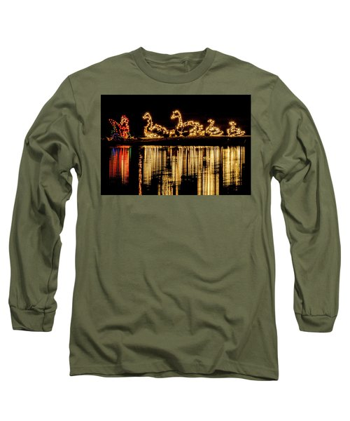 Duck Pond Christmas Long Sleeve T-Shirt