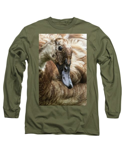 Ducks Head Long Sleeve T-Shirt