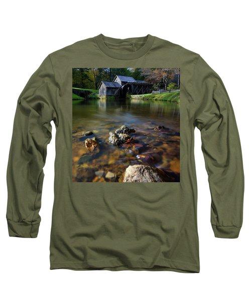 Ducks View Of Mabry Mill Long Sleeve T-Shirt