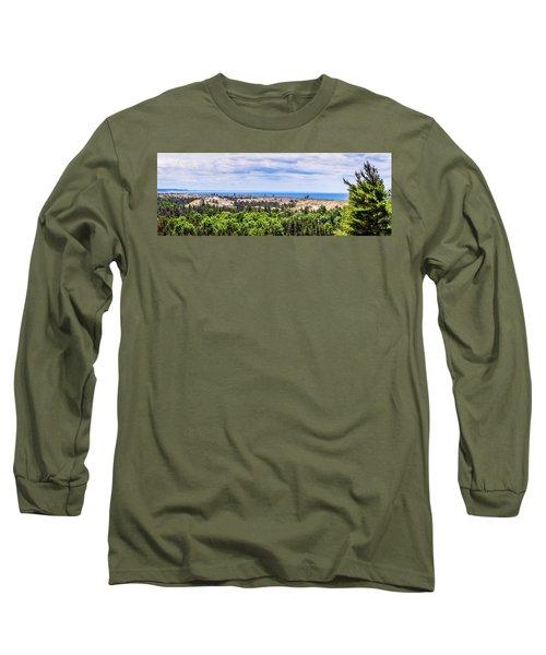 Dunes Along Lake Michigan Long Sleeve T-Shirt