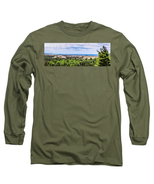 Dunes Along Lake Michigan Long Sleeve T-Shirt
