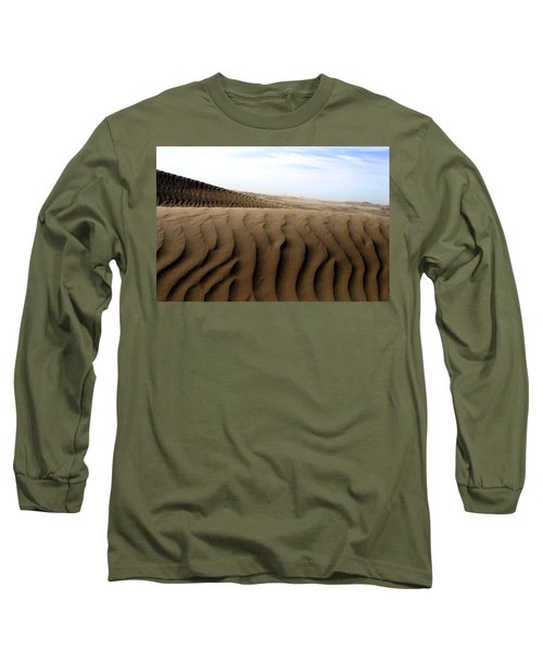 Dunes Of Alaska Long Sleeve T-Shirt