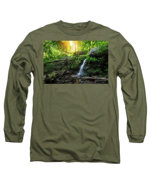 Dunnfield Creek Sunrise  Long Sleeve T-Shirt