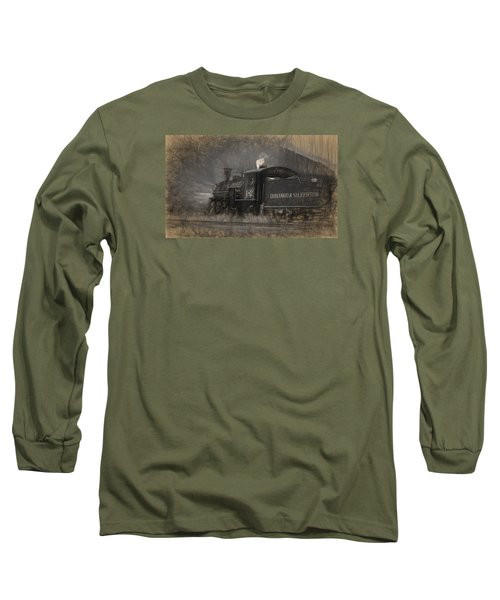 Durango And Silverton Train 2 Long Sleeve T-Shirt