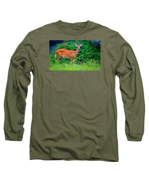 Dusk Deer Long Sleeve T-Shirt