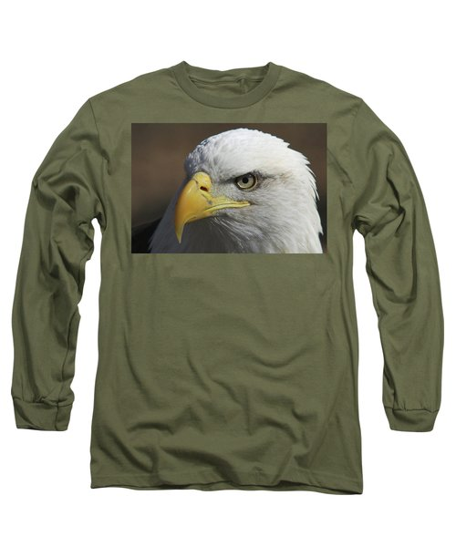 Long Sleeve T-Shirt featuring the photograph Eagle Eye by Steve Stuller