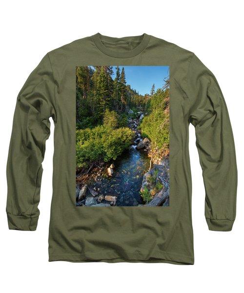 Eagle Falls - 1 Long Sleeve T-Shirt