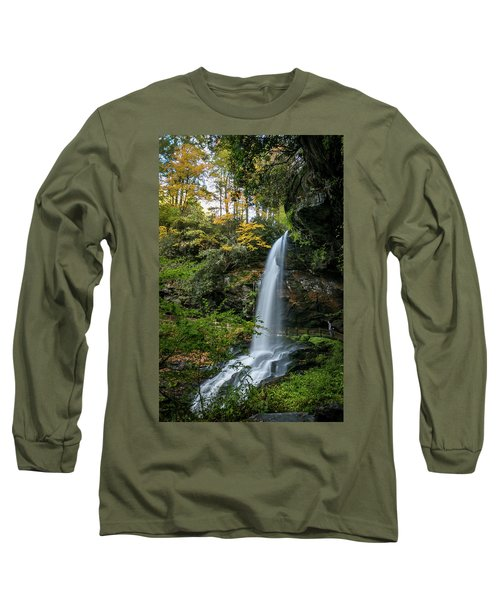 Early Autumn At Dry Falls Long Sleeve T-Shirt