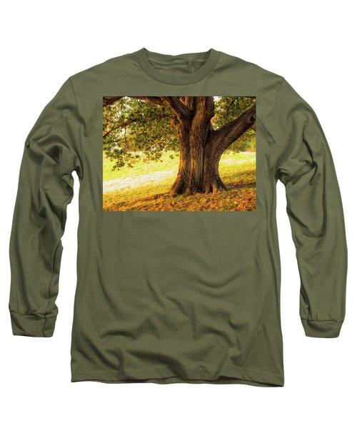 Early Autumn Oak Long Sleeve T-Shirt