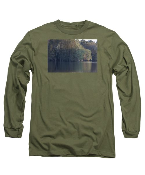 Early Morning Cove - Lake Marion Long Sleeve T-Shirt by Suzanne Gaff