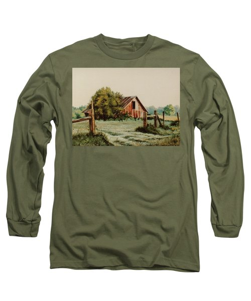 Early Morning In East Texas Long Sleeve T-Shirt