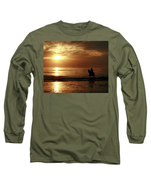 Early Morning Ride Long Sleeve T-Shirt